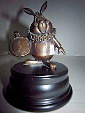 The Art of Disney Bronze Sculpture Statue Alice N Wonderland White Rabbit