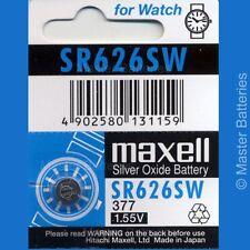 Maxell SR626/SR626SW Watch Batteries
