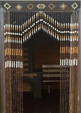 Beaded doorway curtains, Wooden curtain Beads, Wood curtains, bead door curtain