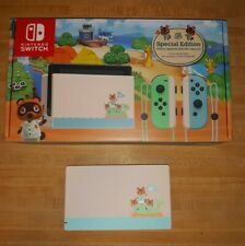 Animal Crossing New Horizons Nintendo Switch Dock And Box Only