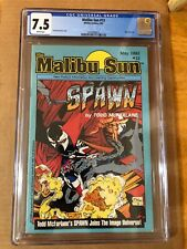 Malibu Sun #13 CGC 7.5 WT 1st cover appearance Spawn Todd McFarlane 1992