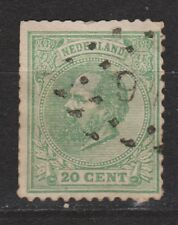 NVPH Netherlands Nederland 24 TOP CANCEL AMSTERDAM (5) Willem III 1872