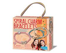 Gioco per creare braccialetti a spirale con ciondoli, età cons.5+ NUOVO DA NEGOZ
