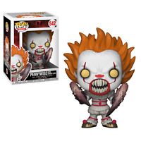 "IT PENNYWISE WITH SPIDER LEGS  3.75"" POP VINYL FIGURE FUNKO UK SELLER 542"