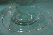"Fostoria SPRAY 9-7/8"" Snack Plate CONTOUR BLANK Art Deco  MORE ITEMS AVAILABLE"