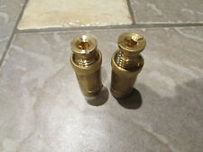 NEW BRASS POOL COVER ANCHOR LOT 2 PIECES IN GROUND POOL DECK SAFETY ANCHORS