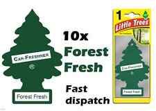 "MAGIC TREE ""LITTLE TREE FOREST FRESH CAR AIR FRESHENER PACK OF 10"
