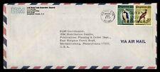 DR WHO 1972 GUYANA SLOGAN CANCEL AIRMAIL TO USA ADVERTISING IBM  f51769