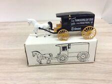 Ertl Horse & Wagon Bank Chicago Tribune Thanksgiving Day NEW NIB E1900