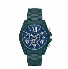 Michael Kors Oversized Bradshaw Teal Coated Watch Mk6723 NWT In Original Box £