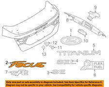 FORD OEM 12-14 Focus Trunk Lid-Emblem Badge Nameplate BM5Z5842528B