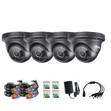 SANNCE 4x 1080P 2MP HD In/ Outdoor IR Day Night CCTV Home Security Camera System