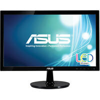 Asus 19.5-inch Widescreen LED Backlit Monitor with Built-In Speakers - Black