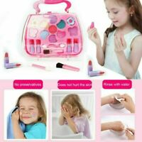 Kids Makeup Set Cosmetics Kit Eyeshadow Lipstick Blushes Washable Girls Toy Gift