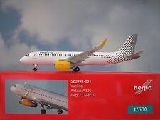 Herpa Wings 1:500 Airbus A320  Vueling EC-MES  528993-001  Modellairport500