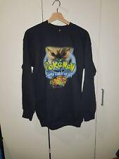 VTG Pokemon The First Movie RARE Crewneck OG 90s Nintendo Pikachu Yu-Gi-Oh Sz M