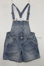 Salopette H&M (Cod. S358) Tg.42 W28 Jeans usato Short vintage Shorts jeans