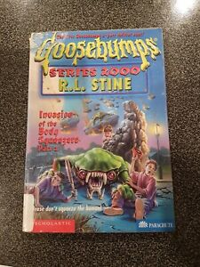 GOOSEBUMPS SERIES 2000 -Invasion of the body squeezer part 2 #5 - 1st ed. book