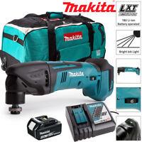 Makita DTM50Z 18V Oscillating Multitool With 1 x 4Ah BL1840, DC18RC & LXT600 Bag