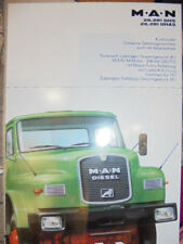Prospekt Sales Brochure MAN M.A.N 26.281 DHS DHAS Kurzhauber Allradantrieb LKW