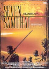 The Seven Samurai,1954 (DVD,All,Sealed,New,Keep Case) Kurosawa Akira