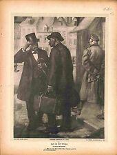 Salut Obligatoire Feldgrauen Affiche de Guerre Dessin de Lucien Jonas 1916 WWI