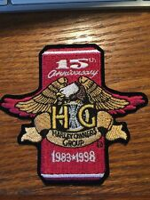 1998 HOG Harley-Davidson Owners Group 15th Anniversary Patch *NEW*
