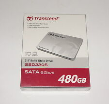 "TRANSCEND SSD220S 2.5"" 480GB SATA INTERNAL SOLID STATE DRIVE TS480GSSD220S NEW!"