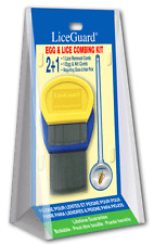 LiceGuard Egg and Lice Kit -2 Combs For Lice & Eggs Magnifying Glass & Hair Pick