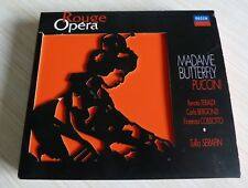 COFFRET DIGIPACK 2 CD ROUGE OPERA MADAME BUTTERFLY PUCCINI 1997