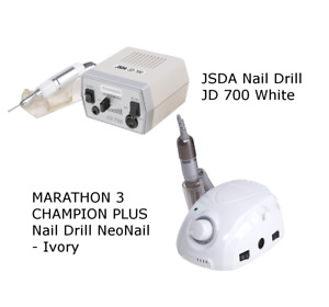 MARATHON 3 CHAMPION PLUS Nail Drill, JSDA JD 500/700 White, NeoNail MINI