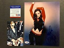 Jennifer Lopez Rare! Full signed autographed 8x10 Photo PSA/DNA Cert