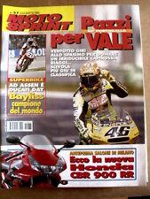 MOTOSPRINT n°37 2001 HONDA CBR 900 RR - Bayliss Campione del Mondo    [P55]