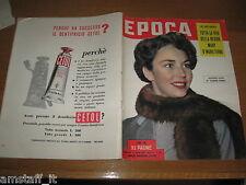 EPOCA 1953/130=JENNIFER JONES=PICASSO=QUEEN MARY WINDSOR=LEONETTO CAPPIELLO