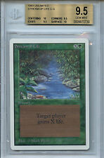 MTG Unlimited Stream of Life  BGS 9.5 Gem Mint Card Magic  WOTC 0739