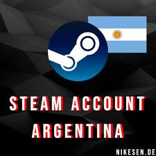 ARGENTINA STEAM ACCOUNT - Cheaper Store - No VPN needed - Full Access