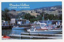 CA, Lucerne. BAMBOO HOLLOW RECREATION MOBILE HOME PARK. Chrome Postcard