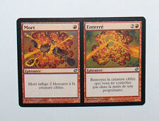 CARTE MTG MAGIC - VERSION FRANCAISE MORT ENTERRE