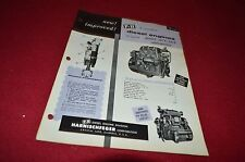 P&H Model 387C-18 2-Cycle Diesel Engine For Automotive Dealer's Brochure LCPA3