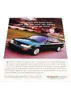 1997 Toyota Corolla - Vintage Advertisement Car Print Ad J406