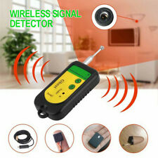 Wireless Hidden Camera Audio Bug Handheld Signal Detector Finder RF GSM Tracker