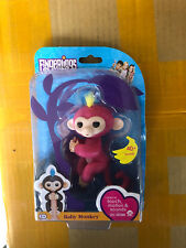 Fingerlings - Fingerling Baby Monkey - Pink with Yellow Hair By WowWee NEW