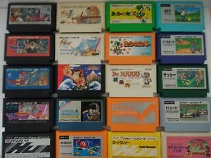 Famicom lot ( 20 titles) , only cartridge