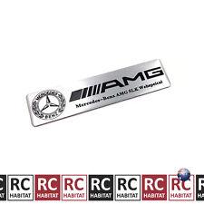Mercedes-Benz AMG SLK Trunk Side Rear Tail Emblem Embossed Aluminium Sticker