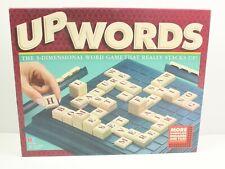 Upwords 3D Word Game MB Board Game Vintage 1997 Complete