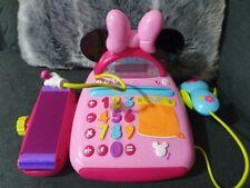 Disney Minnie Mouse Electronic Cash Register Play Set Pretend Toy 3+