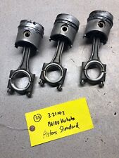 Kubota B6100 Tractor D650 Engine Pistons And Rods Standard