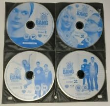 The Big Bang Theory Seasons 1 2 3 4 (Blu-ray, Pre-owned, DISCS ONLY, 2007-10)