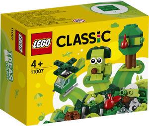 Lego Classic Briques Vertes Créatif Kit 11007 Lego