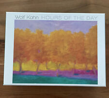 """Wolf Kahn """"Hours Of The Day� Boxed Notecards 20 Cards & Envelopes 4 Designs New!"""
